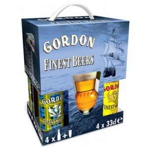 ESTUCHE GORDON FINEST MIX - 8 UNIDADES 33 cl + 1A