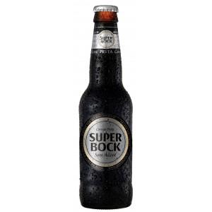 SUPER BOCK SIN ALCOHOL NEGRA - 33 cl
