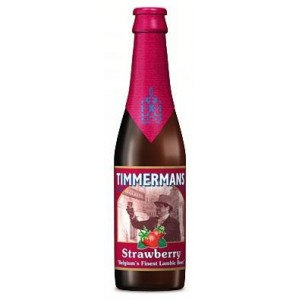 TIMMERMANS STRAWBERRY LAMBIC - 25 cl