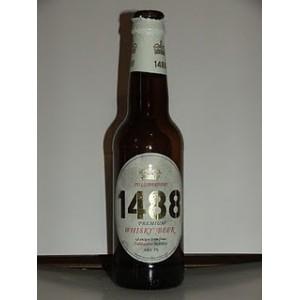 1488 PREMIUM WHISKY BEER - 33 cl